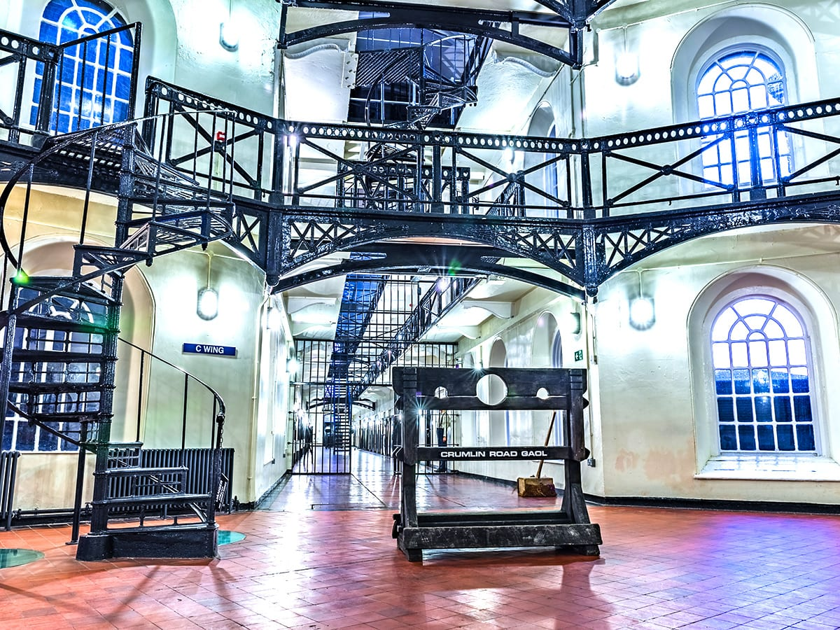 Crumlin Road Gaol Jail Break Challenge Fundraiser