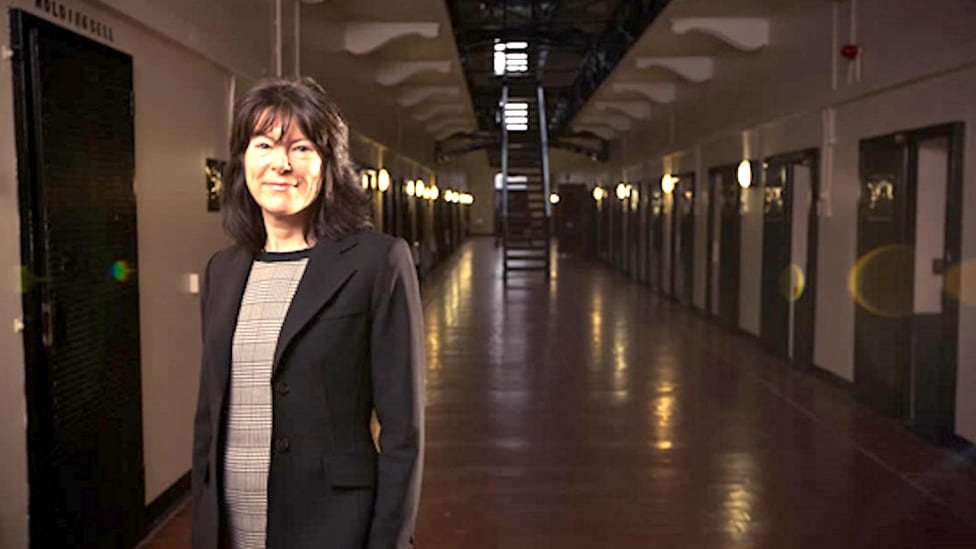Photoshoot Ulster Business Magazine at the Crumlin Road Gaol
