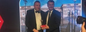 Crumlin Road Gaol winners at NI Tourism Awards