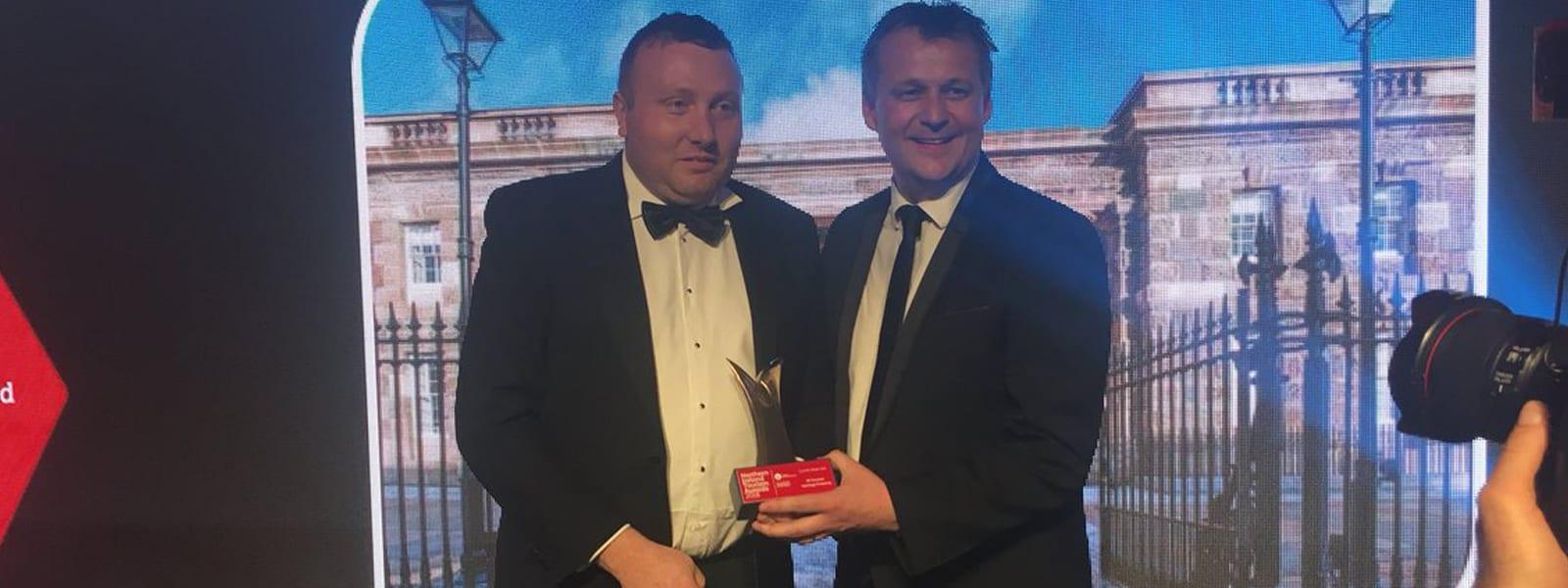 Crumlin Road Gaol winners at NI Tourism Awards